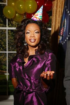 Oprah wax figure