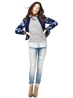 Women's Clothing: Women's Clothing: Featured Outfits Outerwear & Blazers | Gap