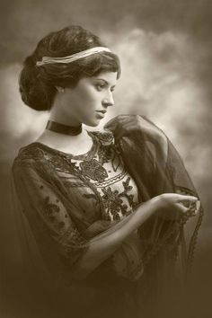 Edwardian lady                                                                                                                                                      More