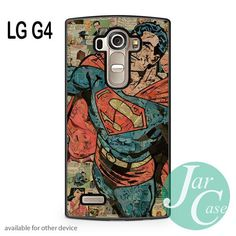 Superman Comic Art Phone case for LG G4