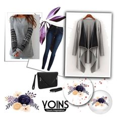 """YOINS CONTEST"" by lela1992 ❤ liked on Polyvore featuring women's clothing, women, female, woman, misses, juniors and yoins"