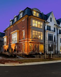 Project: Symphony Park at Strathmore, Bethesda, MD Beautiful Home Gardens, Beautiful Homes, Mix Use Building, Townhouse Designs, French Style Homes, Real Estate Development, Built Environment, Apartment Design, Curb Appeal