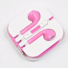 New Earbuds EarPods with Remote And mic Earphone Headphone for Apple iPhone 5 --- New Releases 24 Hour Deals Buy Five Star Products With Up To Discount New Earbuds, Headphones, Tech Accessories, Cell Phone Accessories, Apple Iphone 5, Eyeglasses, Gadgets, Ipad, Remote