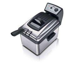 La friggitrice HD6163/00 di Philips realizza fritti di qualità professionale. Per limitare l'emissione degli odori, la HD6163/00 integra un esclusivo sistema di zona fredda, indispensabile per beneficiare di un olio pulito privo di residui di cibo. Il filtro, il cestello e il serbatoio sono smontabili e compatibili con la lavastiviglie.