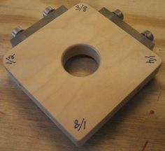 Simple corner radius jigs