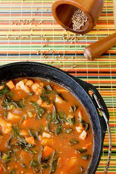 African Potato & Cauliflower Stew