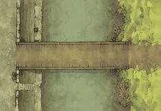 The East Bridge, a battle map for D&D / Dungeons & Dragons, Pathfinder, Warhammer and other table top RPGs. Tags: road, highway, city, town, settlement, river, canal, waterway, dock, encounter, sewer, grimdark