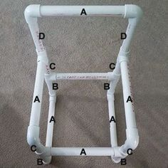 Grab some PVC pipe at your local Builders and some colourful fabric to make an easy DIY kiddies garden chair. You will find step-by-step instructions for making a small, medium and large kiddies garden chair, and you can paint the chairs in any of the Rust-Oleum 2X spray paint colours.