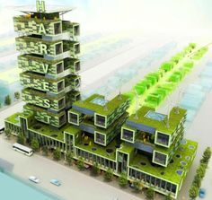 urban farms of the future? an exciting idea but would it work? If it did, would it really be as sustainable as it sounds?