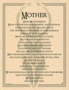 Great Mother Spirit Evocation Parchment Page Pagan Wicca Witch Pagan Witch, Wiccan Spells, Witches, Wicca Runes, Healing Spells, Tarot, Under Your Spell, Simple Poster, Spirit Guides