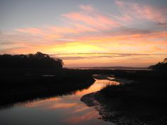 Sunrise in January-Hilton Head Island