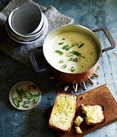 Cauliflower soup recipe // Gourmet Traveller