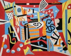 Art © Estate of Stuart Davis / Licensed by VAGA, New York, N. About the ArtistAmerican painter Stuart Davis was born in Philadelphia, PA, but is known for the work completed after moving to New York City. From the time Davis moved to the city i. Modern Art, Abstract Artists, Cubist, Pablo Picasso Paintings, Museum Of Fine Arts, Painting, Abstract Art, Western Paintings, Abstract