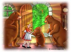 One Year Past Perfect could be a retelling of the Goldilocks story: One bear is too old, one bear is too young, but one bear is just right! Goldilocks And The Three Bears, 3 Bears, Kids Pages, English Activities, Retelling, Bedtime Stories, Stories For Kids, Something To Do, Fairy Tales