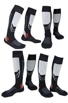 206206fbc187f Men's Thick Cotton Socks Towel Bottom Warm Stockings Outdoor Sport Ski Socks …