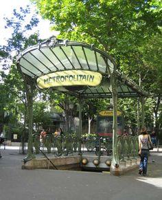 Paris Abbesses Metro Station