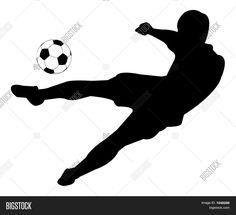Jalkapallo siluetteja