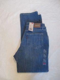3d07b4fbf69 Levi's Levis 529 Jeans Petite Straight Leg Curvy Color Medium Denim  139290002