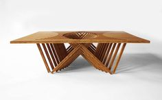 This Flat Sculpture Transforms Into A Table Before Your Eyes! - Architizer