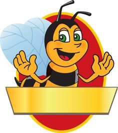 Busy bee clipart kid