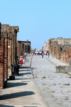 Strolling Pompeii Streets