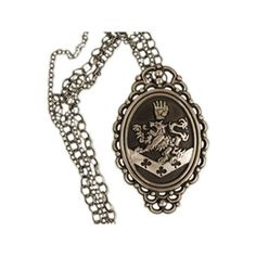Rosalie Hale's Cullen Crest ($29) ❤ liked on Polyvore featuring jewelry, necklaces and twilight