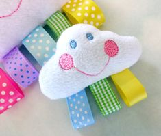 Embroidery Design for Machine Embroidery - Cloud Softie Toy In-The-Hoop on Etsy, $3.99