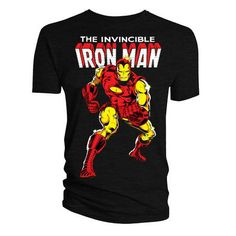 Marvel Official Licensed Quality T-Shirt IRON MAN VOL 126 TS XL Be the first to rate this product  In stock Old price £14.99 £11.99