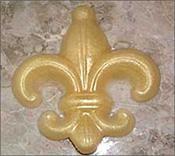 3 D Large Fleur-de-lis Soap