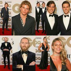 #JordanBarrett, Jordan & Zac (#JordanStenmark and #ZacStenmark), #JustinOShea and #NatashaOaKley - all present at the #GQMOTY Awards in Sydney today! • • • • • • • • • • • • • • • • • • • • • • • • • • • • • •  #JordanBarrett, Jordan & Zac (#JordanStenmark e #ZacStenmark), #JustinOShea e #NatashaOaKley - todos presentes no #GQMOTY Awards em Sydney hoje!