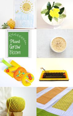 Citrus summer by natalie on Etsy--Pinned with TreasuryPin.com #awtreasuries