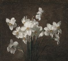 Victoria Dubourg Fantin-Latour (French, 1840–1926). Narcissus. Late 19th-early 20th century, oil on canvas.