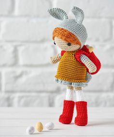 Hoppy Easter! The pattern for this #amigurumi cutie is in issue 29 of Simply Crochet - on sale now!