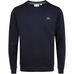 Lacoste Lacoste Crew Neck Fleece Sweatshirt ($110) ❤ liked on Polyvore featuring men's fashion, men's clothing, men's hoodies, men's sweatshirts, mens fleece lined sweatshirt, mens crewneck sweatshirt, mens crew neck sweatshirts and mens green sweatshirt