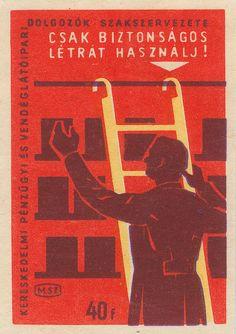 hungarian matchbox label Vintage Stamps, Vintage Labels, Vintage Ads, Vintage Posters, Vintage Designs, Fireworks Art, Matchbox Art, Colour Field, Old Advertisements