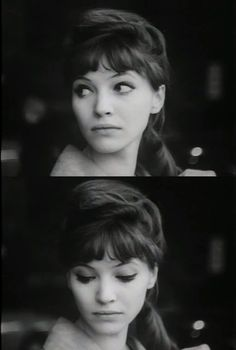 Anna Karina dans Le petit soldat - Jean-Luc Godard