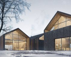 Architectural Visualization - Norwegian Cottage by Level - Exterior scene 3