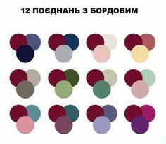 12 combination with bordeaux Three Color Combinations, Color Combinations For Clothes, Color Combos, Burgandy Color, Maroon Color, Colour Pallette, Colour Schemes, Color Composition, Glamour Hollywoodien