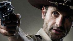 Rick From the Walking Dead   The Walking Dead Poster