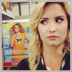 Demi Lovato found herself in a CVS: | 16 Celebrity Instagrams You Need To See This Week