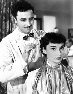 The Sexiest Movie Hairstyles -- Roman Holiday -- Audrey Hepburn