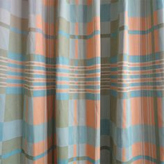 Modern Geometric Plaid Lines Bedroom Colorful Curtains Plaid Curtains, Colorful Curtains, Bedroom, Modern, Home Decor, Trendy Tree, Decoration Home, Check Curtains, Room Decor