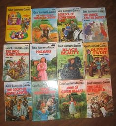 Great Illustrated Classic are one of the best investments I have made in my children's books. They are able to read grown up books and love talking to older kids and adults about them.