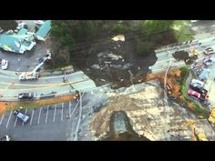 """A """"Monster"""" In Oregon: 80 Foot Sinkhole Keeps Growing - Second One Since December - Signs Of The """"Big One?"""""""