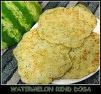 Watermelon Rind Dosa