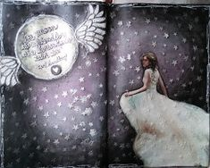 MessyJessyCreatesArt: Journal 52 Week 7 MOON with Effy Wild