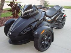 *For when Daddy pretends to be bad a$$*   CAN-AM Spyder  3 wheels is safer than 2.