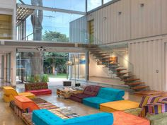 15 Well Designed Shipping Container Homes for Life Inside the Box - http://freshome.com/shipping-container-homes/