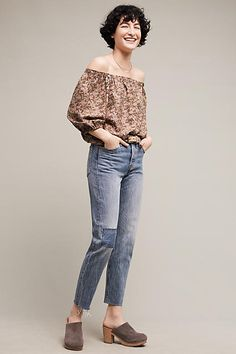 Levi's Wedgie Icon High-Rise Skinny Jeans - anthropologie.com