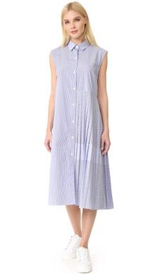 La Vie Rebecca Taylor Short Sleeve Mixed Stripe Dress | SHOPBOP